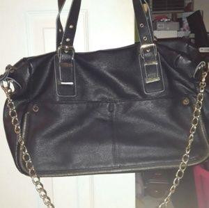 Black Steve Madden Shoulder/Crossbody Bag